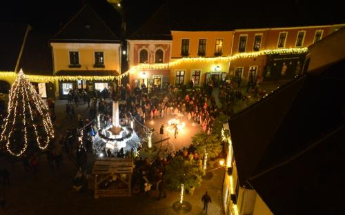 Szentendre by night