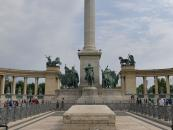 Heroes' Square in Budapest